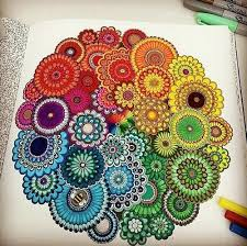 25 Mandalas Color Ideas Mandalas