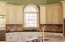 How To Paint And Glaze Kitchen Cabinets Painted Glazed Kitchen Cabinets Rapflava