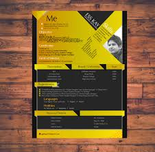Graphic Design Resume Template Modern Free Resume Template Design For Graphic Designers
