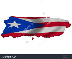 Cuba And Puerto Rico Flag Puerto Rican Map With Flag Inside Clipart Clipground