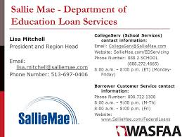 federal loan servicing update and panel ppt download