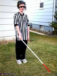 Halloween Referee Costume Blind Hockey Referee Halloween Costume
