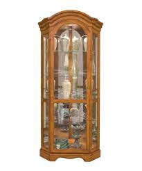 philip reinisch co barrington lighted corner curio cabinet