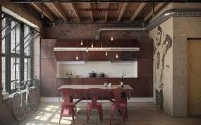 cuisine style loft industriel cuisine style loft cuisine brute en photos cuisine style loft