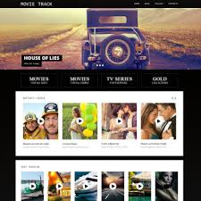 movie templates movie site templates