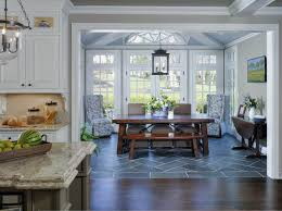 ideas for decorating a kitchen interior breeze knoll breakfast room view from kitchen sunroom