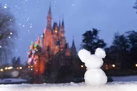 snow winter disney theme park tokyo disney sea tokyo disneyland