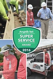 t s roofing systems earns esteemed 2016 angie s list service