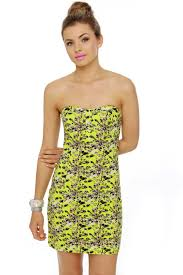 volcom hey poppy dress lime green dress print dress 45 00