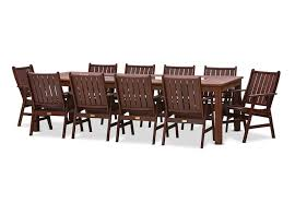 frontier 11 piece outdoor setting outdoor dining settings frontier 11 piece outdoor setting