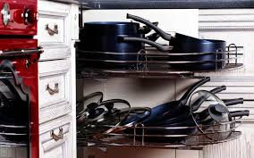 how can i organize my kitchen without cabinets 7 diy ways to organize pots and pans in your kitchen cabinets
