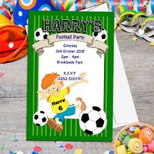 football birthday party invitations u2013 gangcraft net