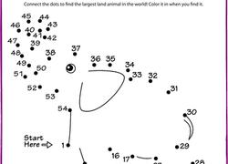 kindergarten dot to dots worksheets u0026 free printables education com