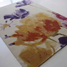 Bright Purple Rug Pastel Is A Vibrant Floral Area Rug Made From Luxurious Nz Wool