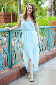 Kelly Green Maxi Dress Kelly Elizabeth Style Ice Blue Maxi Dress