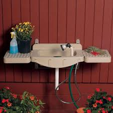wall mounted patio table wall mounted outdoor garden sinks outdoor waco outdoor garden sinks
