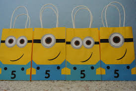 minion gift bags running away i ll help you pack june 2014