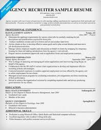 recruiter resume exle recruiter resume sle nardellidesign shalomhouse us