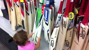 my kids checking out cricket bats at rebel sports youtube