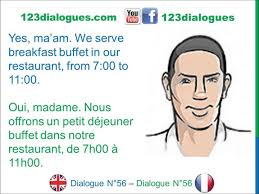 reservation chambre dialogue 56 anglais français check in booking a