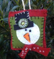 140 best quilted and sewn ornaments images on
