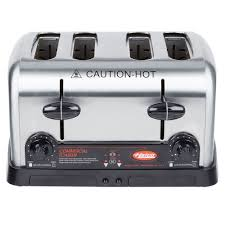 Waring 4 Slice Toaster Review Hatco Tpt 208 4 Slice Commercial Toaster 1 1 4