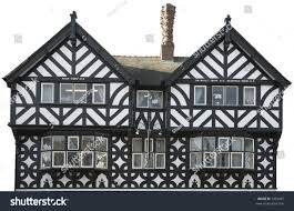 Tudor Style House Tudor Style House Front Stock Photo 1205487 Shutterstock