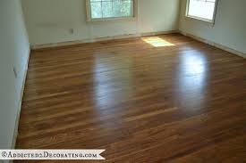 Can Engineered Hardwood Floors Be Refinished My Diy Refinished Hardwood Floors Are Finished