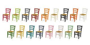 sedie per cucina in legno sedie colorate in legno mobilclick