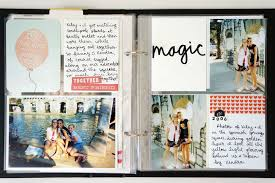 best friend photo album scrapbooking high school memories in 6x8 project album