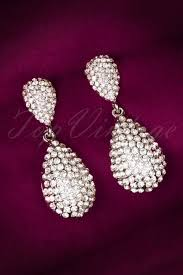 20 s earrings glamorous annabella earrings in silver