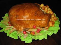 coolest turkey cakes