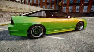 jdm nissan 240sx s13 nissan 240sx s13 tuned for gta 4