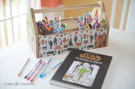 star wars craft ikea tool box makeover mod podge rocks