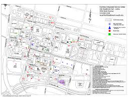 Washington Park Map by Parking Operations U0026 Facilities Management Department
