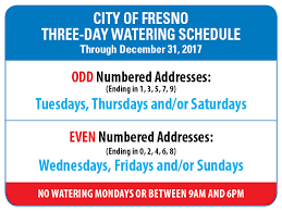 Lansing Board Of Water And Light Department Of Public Utilities Watering Schedules