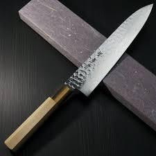 folded steel kitchen knives sakai takayuki knives