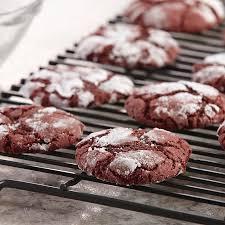 red velvet crinkle cookies mccormick
