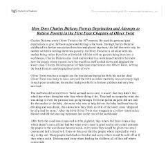 charles dickens biography bullet points how does charles dickens portray deprivation and attempts to relieve