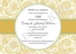 Make An Invitation Card Jaw Dropping 50th Wedding Anniversary Invitation Theruntime Com