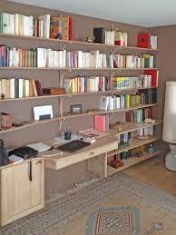 bibliotheque de bureau bibliothèque bureau intégrée vue de éclectique bureau à