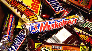 top selling chocolate bars 80 candy bars how many have you eaten