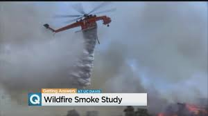 Wildfire Smoke In Denver by Davis Researchers Consider Health Risks Of Firefighting Chemicals