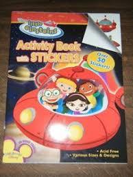 einsteins activity book stickers playhouse disney