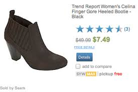 womens boots sears sears s boots clearance starting at just 6 74 reg