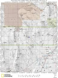 Wasatch County Parcel Map Topaz Mining Claim Utah Placer Mine Juab County Rock Hounding
