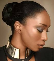 updo transitional natural hairstyles for the african american woman 2015 17 best coiffure chignon images on pinterest african hairstyles