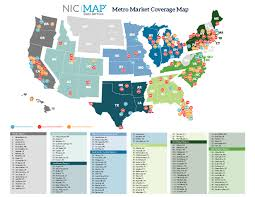 Provo Utah Map by Nic Map Metro Market Coverage Map National Investment Center