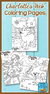 charlotte u0027s web activities book units teacher
