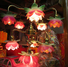 Chinese Chandeliers Pink Thing Of The Day Chinese Lotus Flower Chandelier The